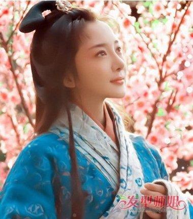 汉朝的女士发型 汉代女子发型教程图片