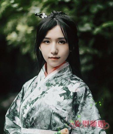 汉朝的女士发型 汉代女子发型教程(3)图片