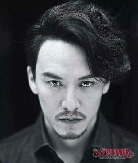 陈晓留胡须帅出新高度 留胡须的男明星如何搭配发型(4图片