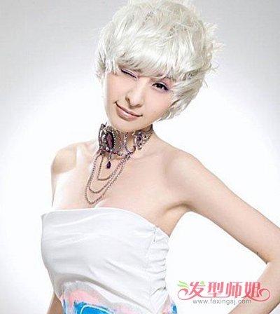 沙宣女生头发样式图片 沙宣头发可爱图片
