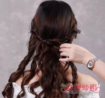 韩式新娘发型步骤图片 2018韩版新娘发型图片图片