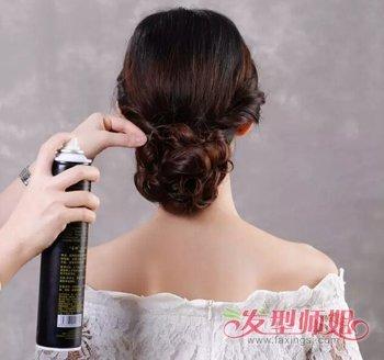 韩式新娘发型步骤图片 2018韩版新娘发型图片(5)图片