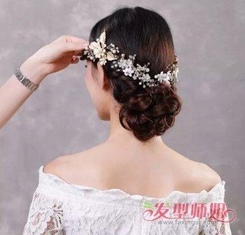 韩式新娘发型步骤图片 2018韩版新娘发型图片(6)图片