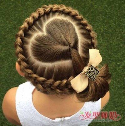 小女孩五角星辫刷爆朋友圈 小女孩超酷的五款扎发发型图片