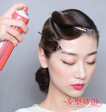 2018韩式新娘发型 韩式新娘发型扎法步骤图片
