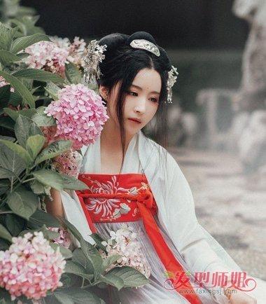 各种各样的古代女子发型 汉代女子发型梳法图片