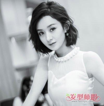 《你和我的倾城时光》赵丽颖首次短发上镜 赵丽颖全新短发发型做时尚