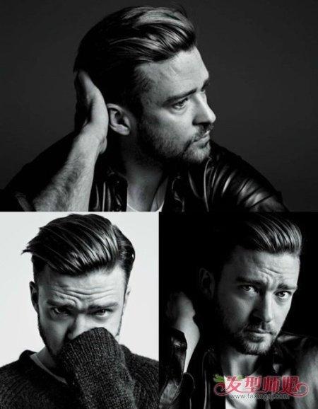 男生头发梳到后面造型名称 男士向后面梳理的发型