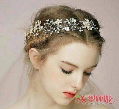 欧美新娘盘发图片 欧美盘发技巧图片