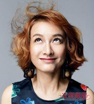 吴昕快乐大本营所有发型图 吴昕最近一期的发型