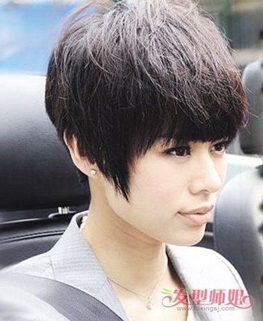 脸圆适合带朋克吗 怎么做朋克头型_发型师姐图片
