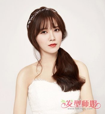 齐刘海如何变成空气刘海 韩国女星齐刘海发型图片