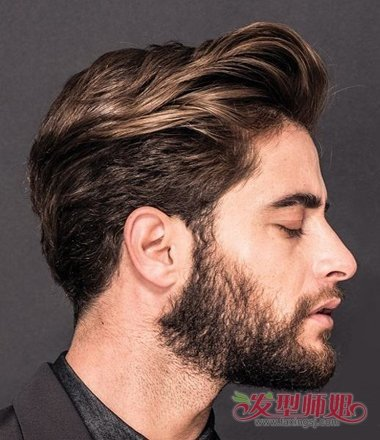 2018中年男士油头发型 欧美油头2018潮男发型(2)