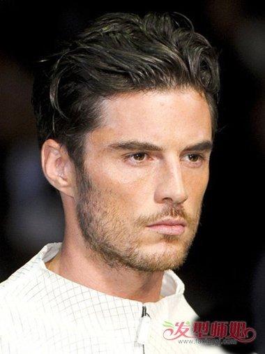 男士油头发型设计 长脸适合什么发型呢