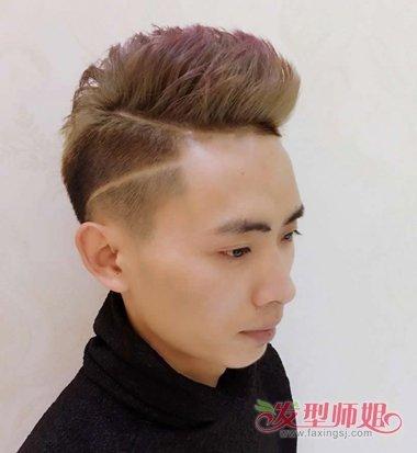 男士寸头刀疤发型图片 寸头发刀疤型图片图片