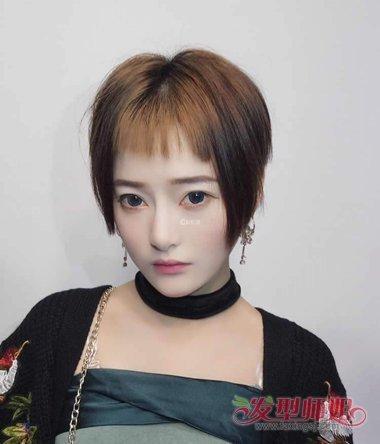 快手社会女生剪短发发型该怎么做呢,女生社会型的比较帅气成熟的短发图片