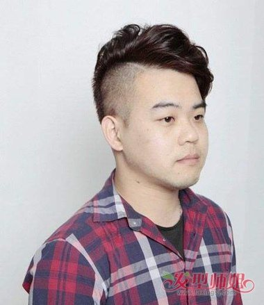 男生油头剪什么发型 脸大的男生适合的油头图片