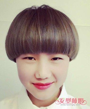 锅盖头和西瓜头对比  梳短发的女孩子,有几种发型是让人觉得难以分辨图片