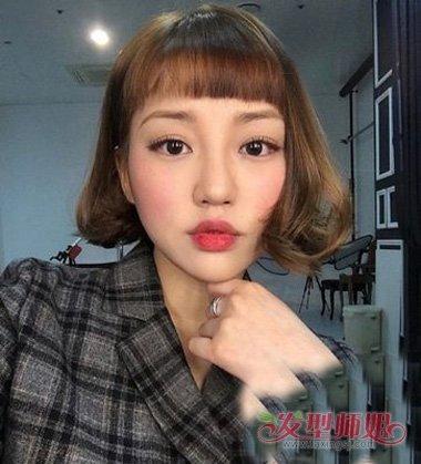 发型设计 短发 >> 好看的女生发型图片 二次元短刘海怎么剪  浅的头发图片