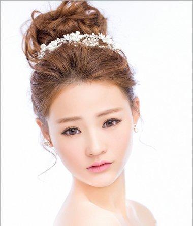 结婚季新娘发型怎么弄 2018影楼最新新娘盘发发型安利图片
