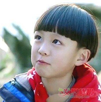 宝宝的西瓜头怎么剪 小孩西瓜头发型图片(3)图片