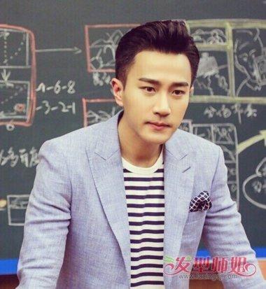 中国男士油头发型图片 2018男士油头发型图片(3)图片