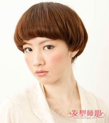 女生短发留蘑菇头要多久 蘑菇头短发发型图片图片