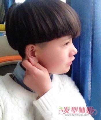 齐眉刘海西瓜头 齐眉刘海西瓜头怎么剪