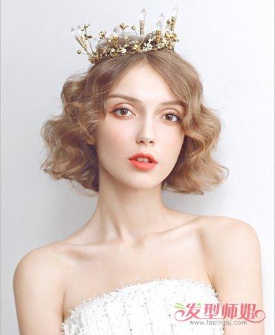 发型设计 新娘发型 >> 新娘森系发型图片 森系唯美发型(3)  2018-05图片