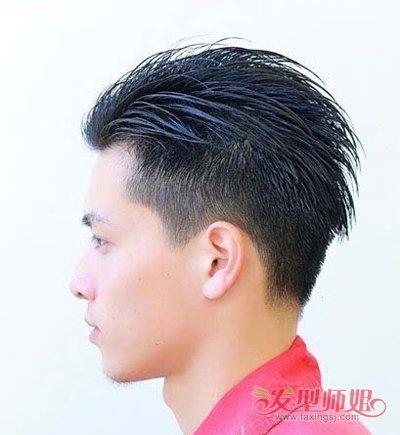 简约大气的男士油头剪发教程 2019男士油头发型可以来图片