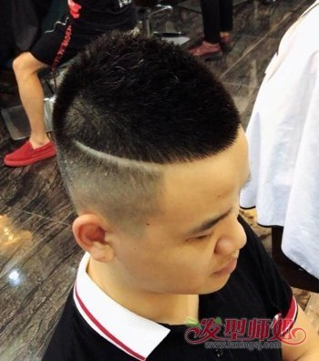 胖子瓜子头发型 快手上的男生瓜子头发型图片