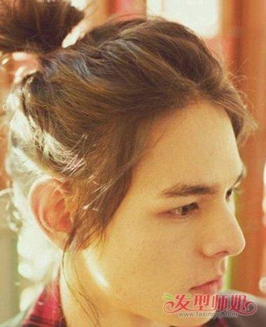 大脸适合丸子头吗 男生适合的发型(3)图片