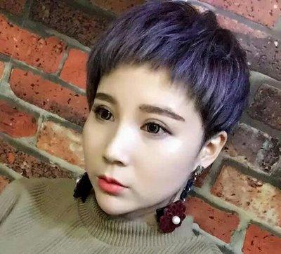 发型设计 短发 >> 2018最全女生狗啃式刘海超短发造型 轻松玩转二次元