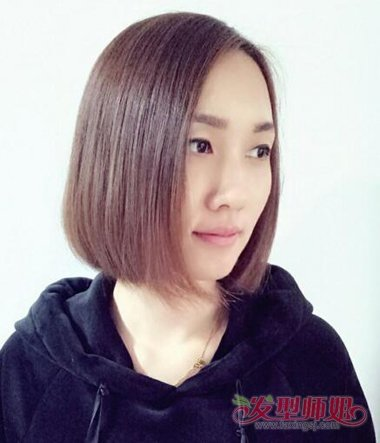 2018-05-13 08:19来源:发型师姐编辑:jane 分享到  有包脸效果的女生