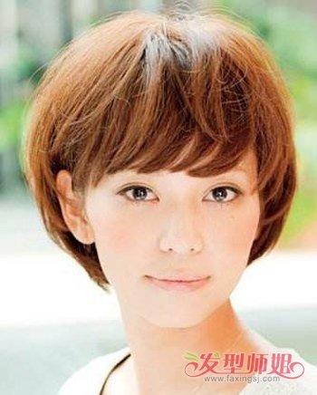 长脸女生蘑菇头发型图片 2018年女生蘑菇头发型图片图片