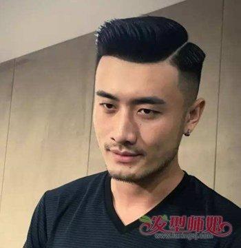 男生发型 男生短发 >> 2018最新男士油头发型 男士油头发型打理技巧图片