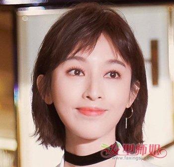 日本二次元刘海发型 女生二次元中分刘海图片