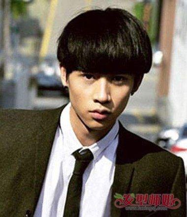 男生短锅盖头超帅发型 为什么男生喜欢锅盖头(2)