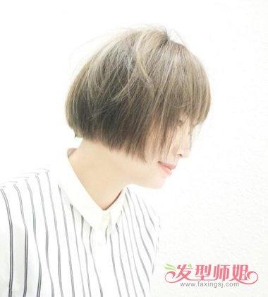 女生短发波波头发型