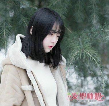 自己怎样剪二次元刘海 女生时尚二次元刘海发型图片