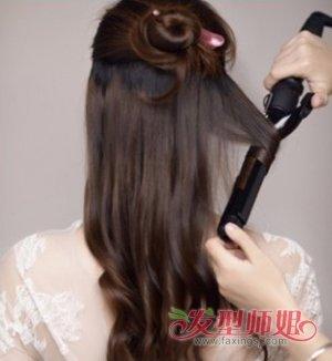 森系女生简单编发教程图解 森系新娘发型步骤图片