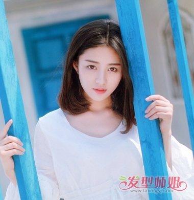 2019女生微卷lob短发发型