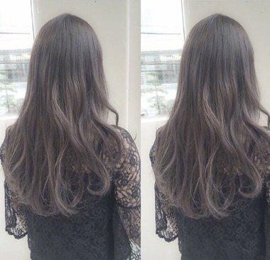 长直发太常见 发尾内扣的直发才是最新流行淑女发型(3图片