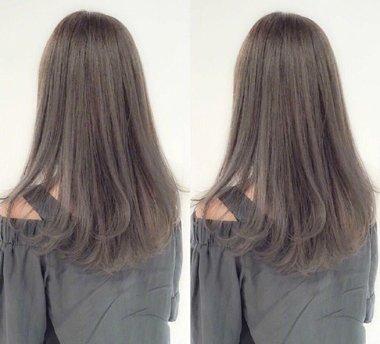 直发 >> 长直发太常见 发尾内扣的直发才是最新流行淑女发型(2)  2018