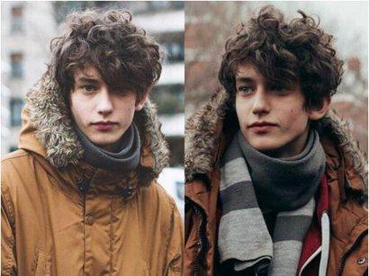 男生泰迪卷短发发型图片图片