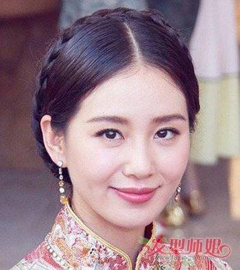 刘诗诗婚礼发型怎么编 刘诗诗婚礼发型教程图片