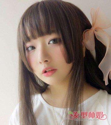 公主切发型现在很火吗 日式公主切怎么扎头发