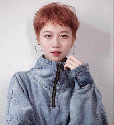短发升级一半淑女一半妖精 2018最拽的女生短发发型