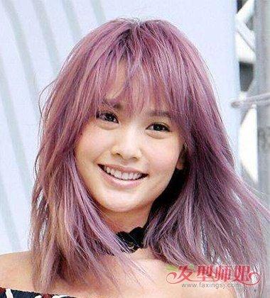 脏粉色头发怎么染 脏粉色头发图片欣赏