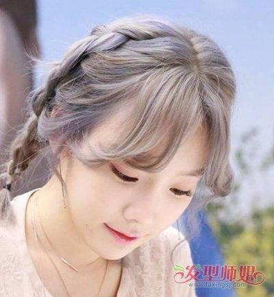 八字空气刘海适合什么脸型 不适合八字刘海的脸型图片